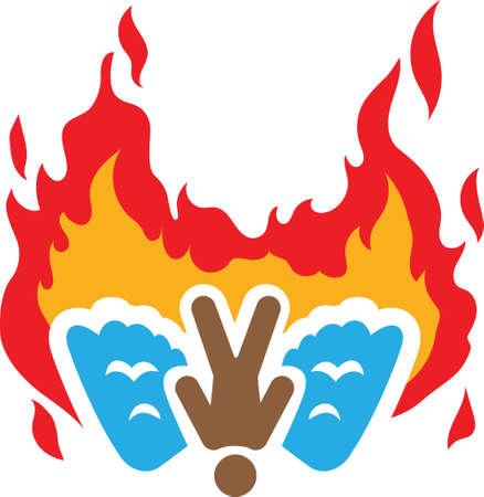 Icarus icon 向量圖像