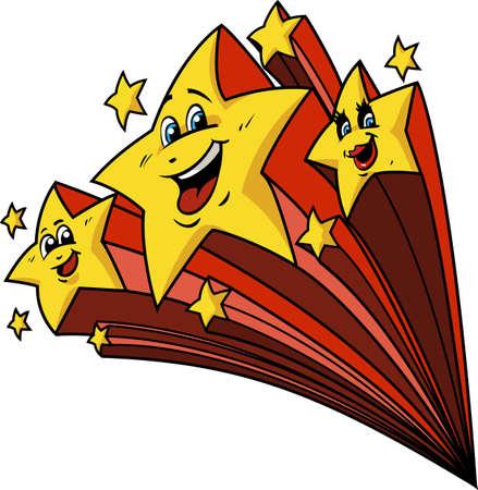 Happy Shooting Stars