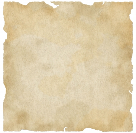 textured backgrounds: Interesting grunge, old paper design with scratches, torn edges, and a weathered finish.  Stock Photo