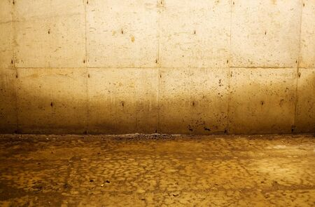 water stained: Interior depiction of water damage to walls from flooding. Good for numerous concepts, such as poverty, distress, abandonment, construction, and more.
