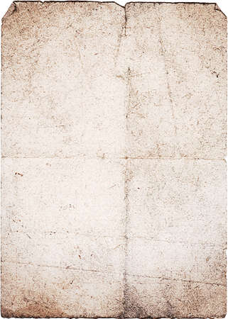 Vintage paper, dark sand color. Vertical orient. Stock Photo - 11731240
