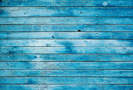 Old blue dirty wooden wall. High quality image, great for backgrounds and modern grunge designs. Stock Photo