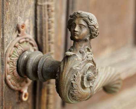Vintage door handle photo