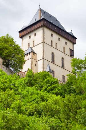 Karlstein castle. Czech Republic.