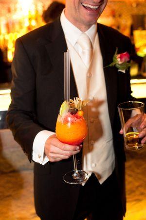 englishman: Wedding Party Stock Photo