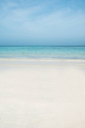 Belle plage tropicale et eau turquoise cristalline paysage exotique avec ciel bleu fond clair Diani Beach Seychelles Maldives Watamu Kenya Paysage de Kendwa Tanzanie