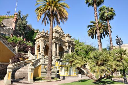 Santa Lucia Park, in Santiago, Chile