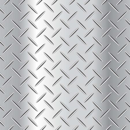Corrugated steel plate vector illustration.