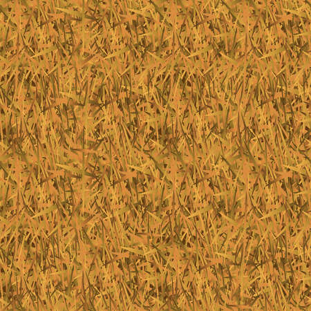 dry grass: Withered grass camouflage seamless pattern for background.