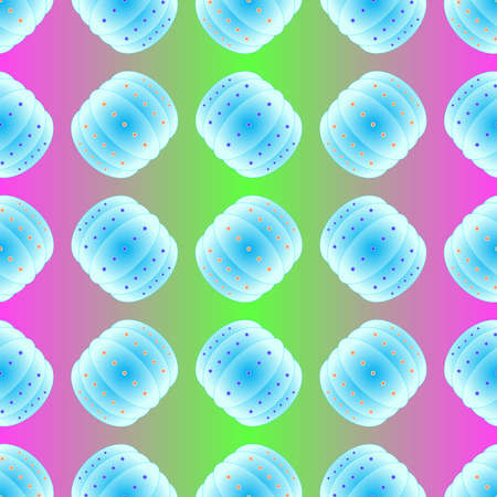 adversary: Bubble bump football equipment the seamless pattern. Illustration
