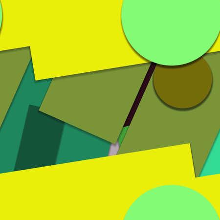 Flat material design - Creative vector trend seamless. Stockfoto - 119612625