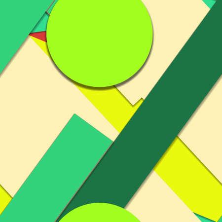 Flat material design - Creative vector trend seamless. Stockfoto - 119612981
