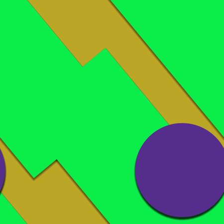 Flat material design - Creative vector trend seamless. Stockfoto - 119613259