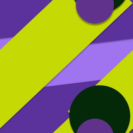 Flat material design - Creative vector trend seamless. Stockfoto - 119827369