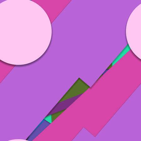 Flat material design - Creative vector trend seamless. Stockfoto - 121294921