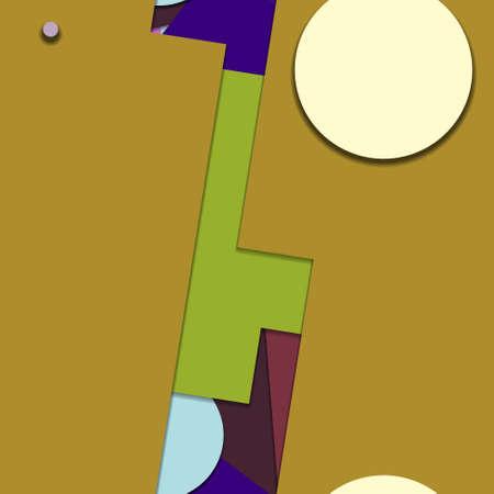 Flat material design - Creative vector trend seamless. Stockfoto - 123064798