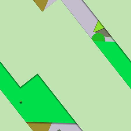 Flat material design - Creative vector trend seamless. Stockfoto - 125569792
