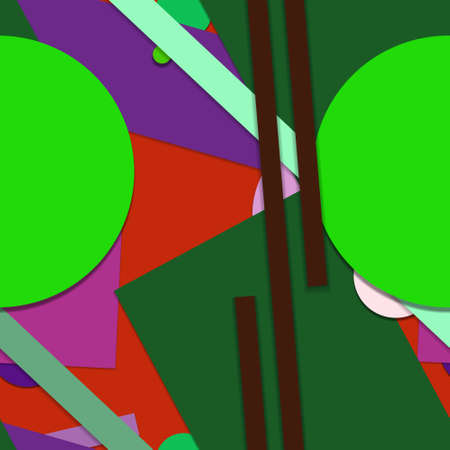 Flat material design - Creative vector trend seamless. Stockfoto - 122452318