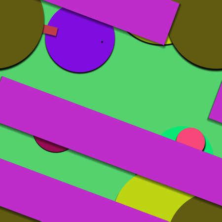 Flat material design - Creative vector trend seamless. Stockfoto - 122452689