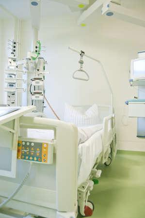 Intensive care unit and trauma care unit of a hospital photo