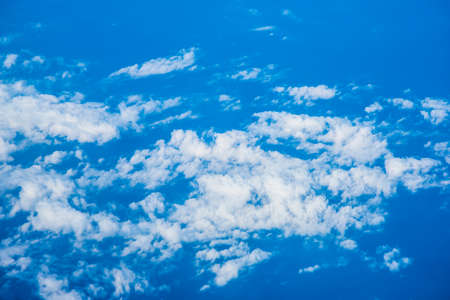 bue: Bue sky and clouds XXL Stock Photo