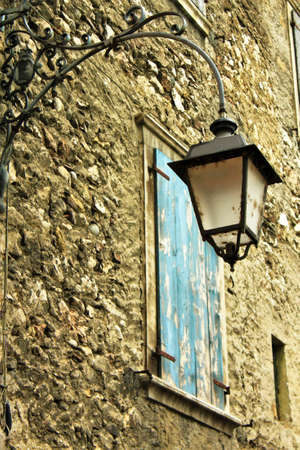 di: window with lamp,lago di garde,holidays