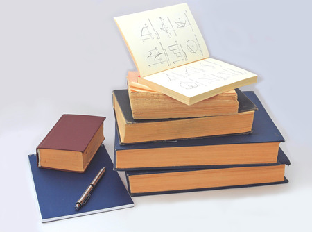 reference book: a set of textbooks for classes