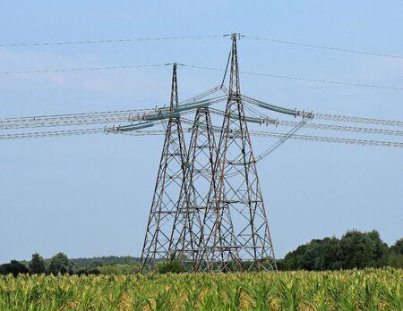 'power line': power line