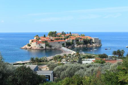 and saint: Montenegro, Saint Stephanes island