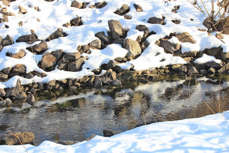 brook: winter brook