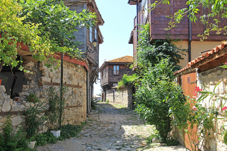 old town: Nessebar, Bulgaria, old town Stock Photo