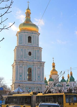 Sophievskaya church in Kyiv