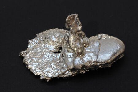 an incredible figure of molten metal