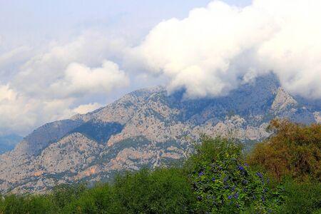 mountain range near Kemer in Turkey Фото со стока