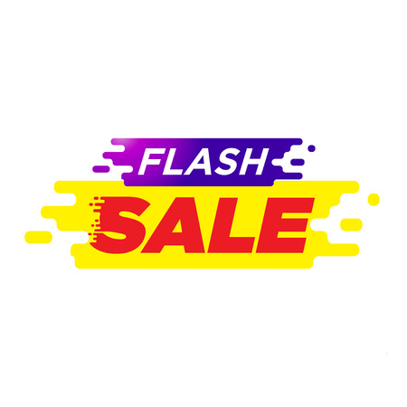 spesial offer. flash sale tags. shopping discount-02 Vektorové ilustrace