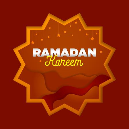 paper cut islamic flat modern design holidays ramadan_07