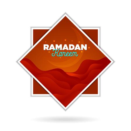 paper cut islamic flat modern design holidays ramadan_10