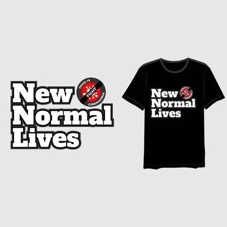 new normal typography-01 Illustration