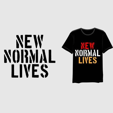 new normal typography-12 Illustration