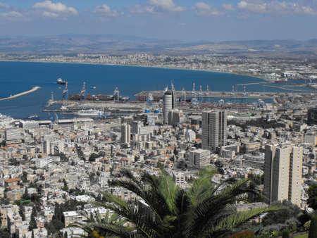 Haifa city landscape