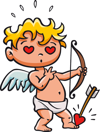 Cupid love Ilustrace