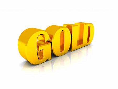 letras doradas: letras de oro Foto de archivo