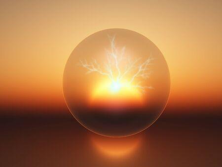 conceptualillustration van energie