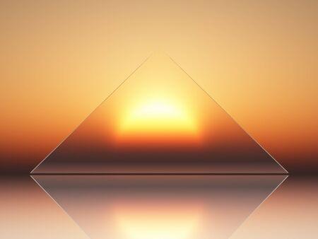 conceptual view of solar energy