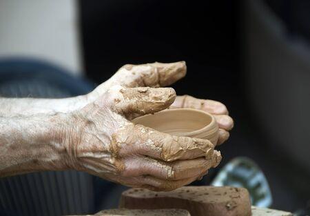 silt: potters work Stock Photo