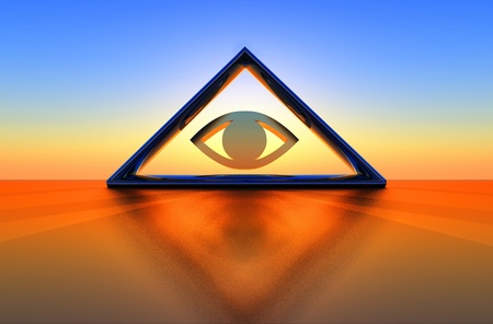 esoterismo: una ilustraci�n geom�trica