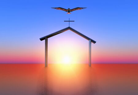illustration of spirituality illustration