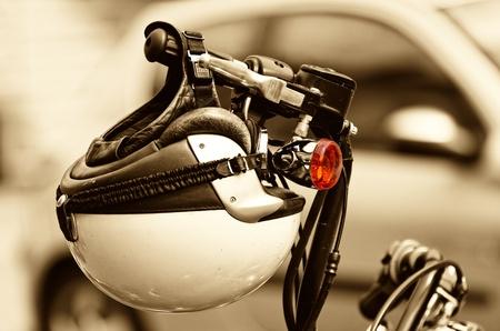 motociclista: casco de moto