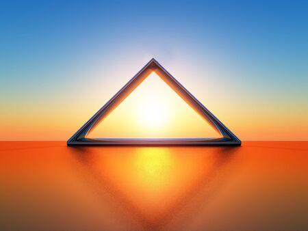 triangle Archivio Fotografico