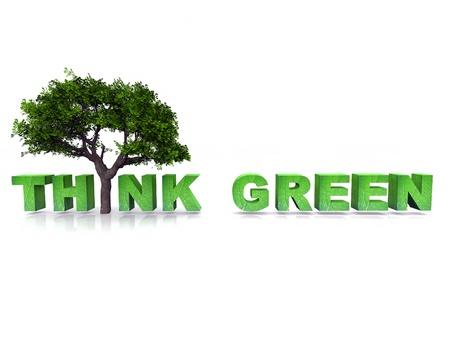 think green: Pensemos en verde